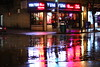 Rainy Night in Sunnyside 25 (Nick Mulcock) Tags: new york city nyc water rain bicycle night canon drops d side sunny queens rainy ni sunnyside 60 60d flickraward