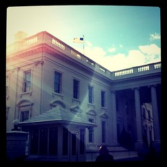 Holidays at the White House 2010 (tedeytan) Tags: square dc whitehouse squareformat dcist simplegifts we3dc iphoneography holidaysatthewhitehouse foursquare:venue=3945 instagramapp uploaded:by=instagram