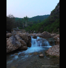 A lovely evening - water was so cold brrr (Umer Rasheed) Tags: pakistan islamabad rasheed umer hx5v