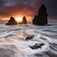 In The Moment #4 - Rodeo Beach, Marin Headlands, California (Jim Patterson Photography) Tags: ocean sanfrancisco california travel light sunset sky usa seascape color beach nature landscape coast rocks pacific dramatic sausalito marinheadlands rodeobeach nikkor1224mm jimpattersonphotography jimpattersonphotographycom seatosummitworkshops seatosummitworkshopscom