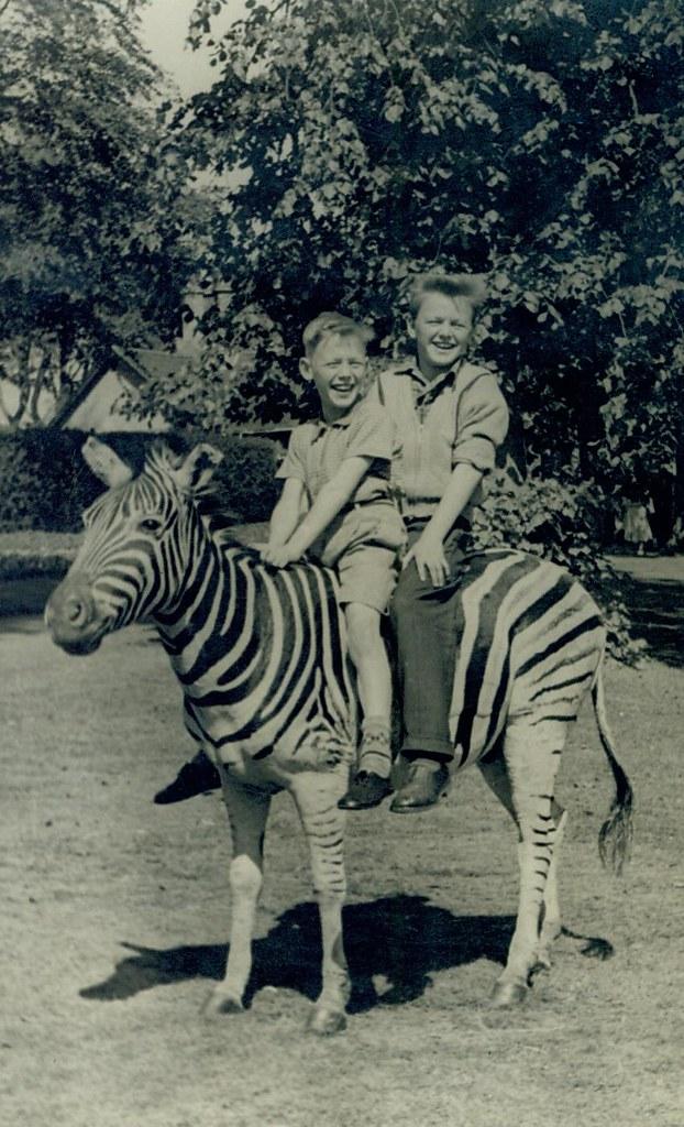 Sam and Charlie Buddo, 1950