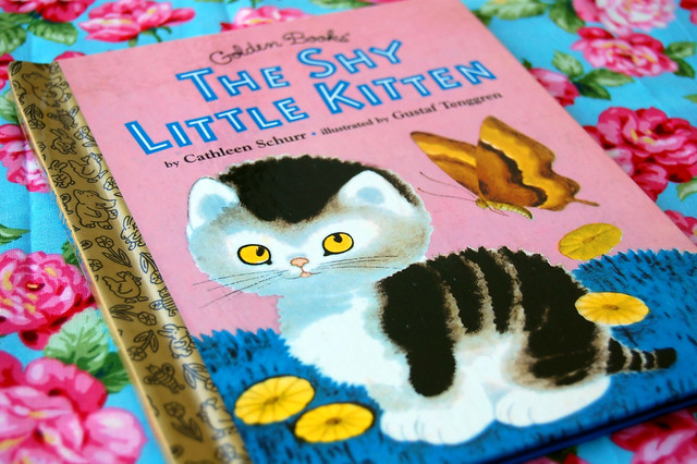 The Shy Little Kitten Childrens Book
