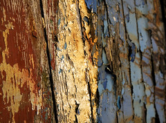 Red, white and blue (steverichard) Tags: wood old uk blue red white water colors river coast scotland boat rust peeling paint colours britain decay flake vessel coastal shore beached hull wreck damaged bateau flaking distressed flaky galloway kirkcudbright stewartry steverichard srichardimages