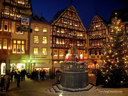 Christmas in Bernkastel, Germany