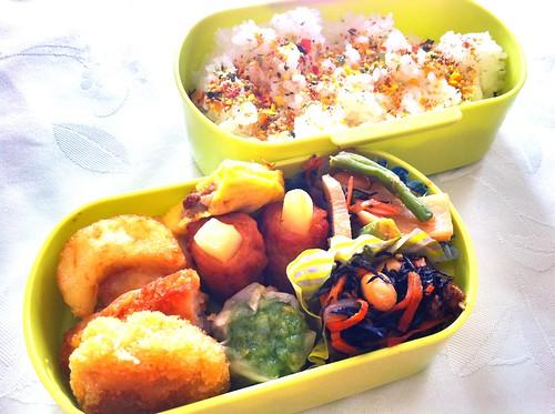 今日のお弁当 No.75 – 緑黄野菜