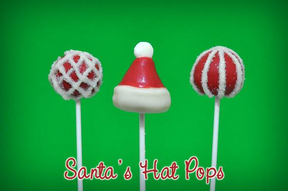 Santa Hat Pops