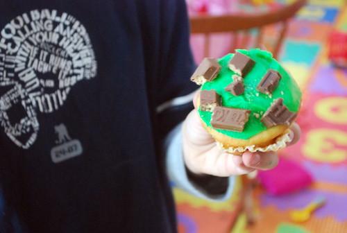 Nick's Decorated Cupcake