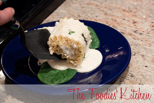 Guest Foodie: Jake Van Ness and Spinach and Chicken Lasagna Rolls