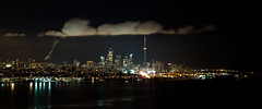 Death to Panoramas (Neil Ta | I am Bidong) Tags: longexposure panorama night cntower pano urbanexploration canon5d lakeontario panaramic urbex torontoskyline canon2470mm rooftopping neilta iambidong