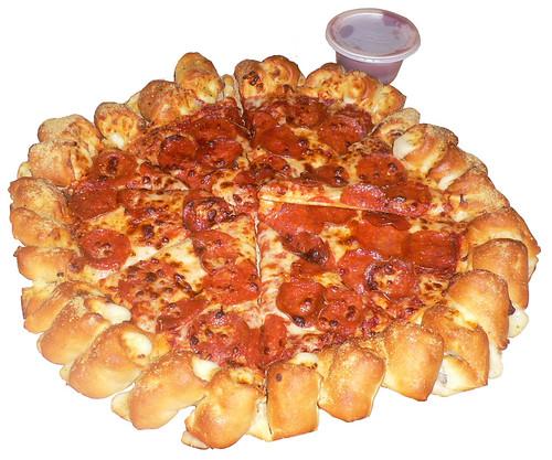 Pizza Hut Cheesy Bites Pizza Nutrition Facts Review Pizza Hut Cheesy Bites