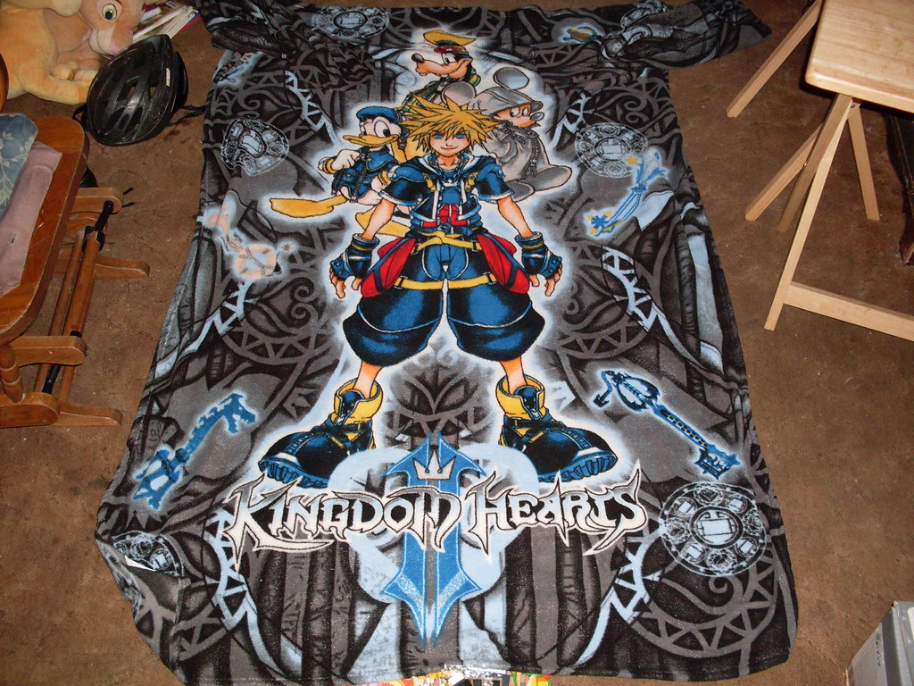 Kingdom Hearts II Comfy Throw