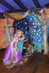 Jump! (Angelasews) Tags: princess disneyland disney giselle rapunzel flynn tangled flynnryder