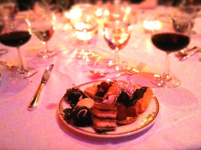 Fancy Dinner at the Mayflower