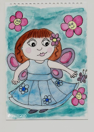 Scan of Flower Fairy