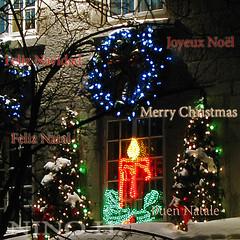 Joyeux Nol - Merry Christmas - Feliz Navidad - Feliz Natal - Buen Natale (Nino H) Tags: christmas canada navidad montreal qubec nol