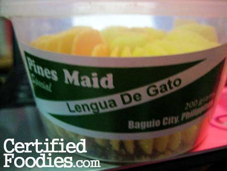 Pines Maid Lengua de Gato from Baguio - CertifiedFoodies.com