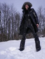 IMGP0998 (Karhu1) Tags: schnee snow shiny jacket nylon snowsuit jacke overall skianzug