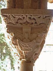 Abadia de Moissac (Monestirs Puntcat) Tags: monastery monasterio abbaye monestir moissac abadia