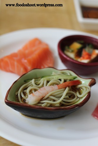 soba with prawn