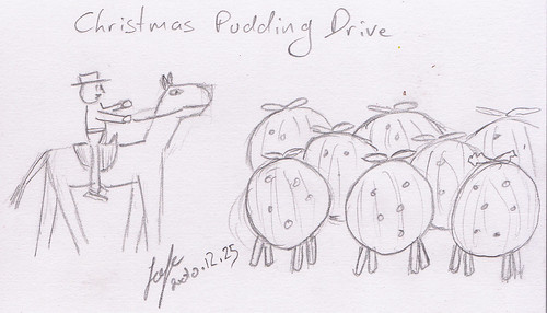Christmas Pudding Drive - Cattle