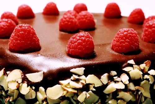Gluten-Free Chocolate-Raspberry Torte