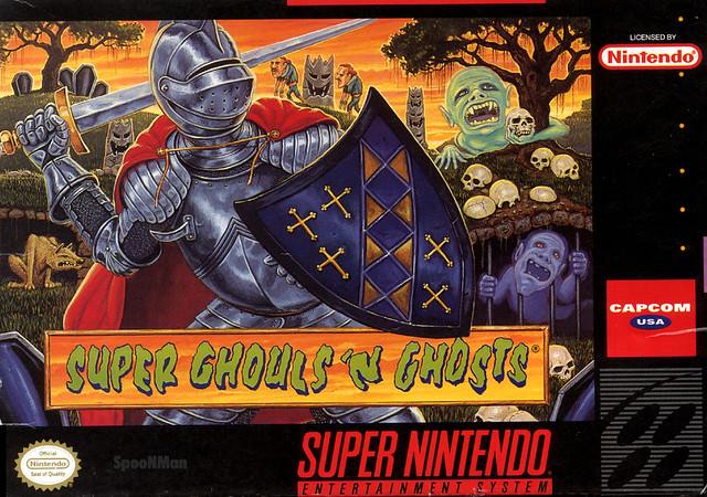 Super Nintendo - GhoulsNGhosts