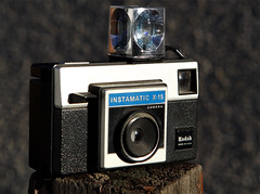 Kodak Instamatic X-15 Camera (Rough-rider) Tags: camera film vintage photography kodak w retro 70s 1970 instamatic cartridge 126film x15 magiccube flashcube cartridgefilm retrocamera kodakinstamaticx15 126format 70scamera