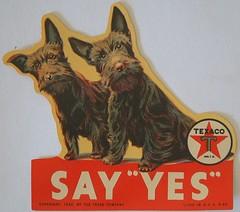 Say Yes Texaco 1932