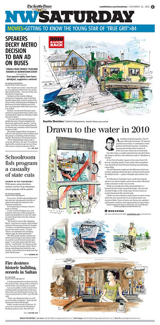 Seattle Sketcher at The Seattle Times