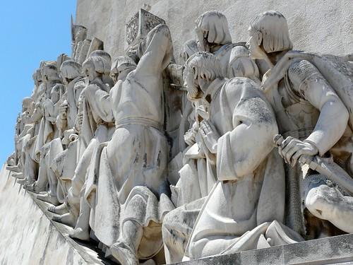 Le monument Vasco de Gama sur la rive droite du Tage