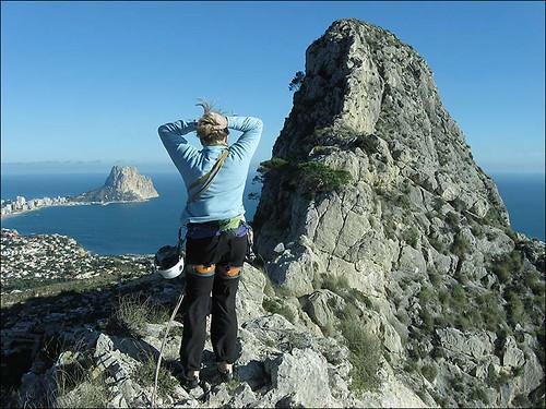 peak Toix versus Calpe and Penon d'Ifach