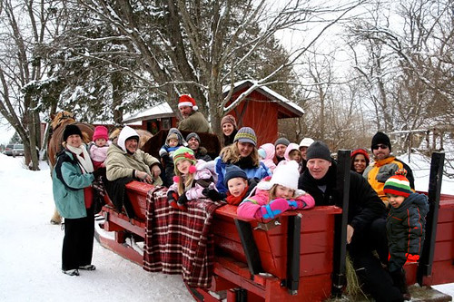 ENTIRE FAMILY Sleigh Ride
