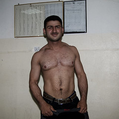 Weight-lifters of Erbil (Olivier Timbaud) Tags: shirtless fs strongman weightlifters hairyman kurdishman