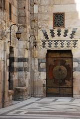 Courtyard (DSLEWIS) Tags: muslim islam egypt mosque cairo barquq madrasa islamiccairo muizz muizzstreet mosqueofbarquq