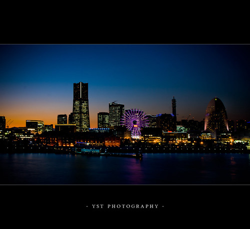 Yokohama Blue Hour