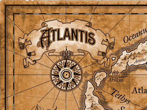 Map of Atlantis Detail 2