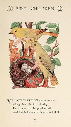 022-Bird children…1912 -Elizabeth Gordon- Illustrated by M. T. Ross
