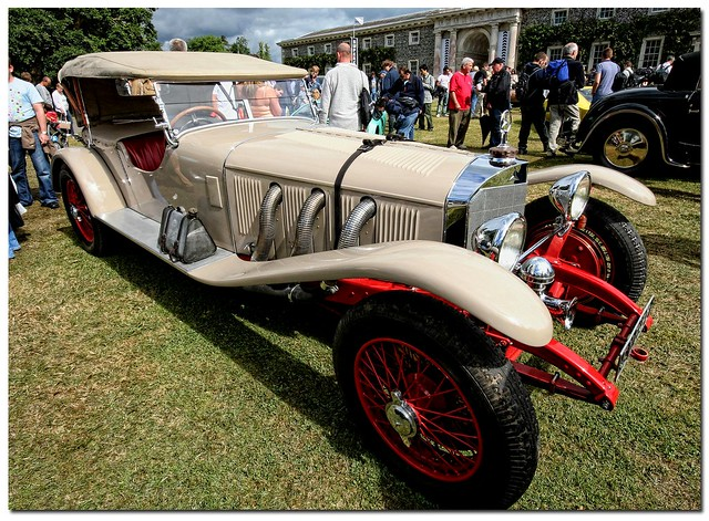 "1927 Mercedes-Benz 26/180 S-Type Rennsport. ""Cartier Style et Luxe"" Goodwood"