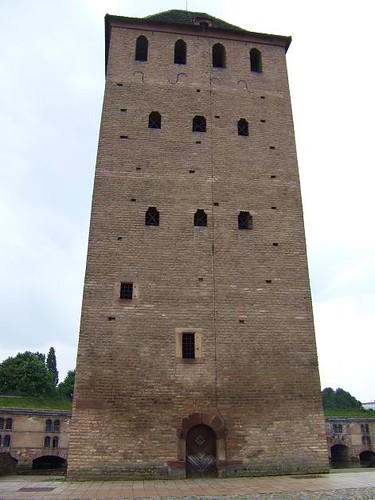 tower of the Ponts Couverts in Strasbourg