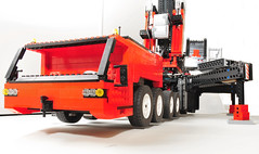 LMC outriggers (minifig 500) Tags: lego crane technic moc liebherr terex mobilecrane heavylift demag