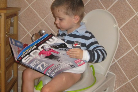 Nejmladší čtenář SNOW