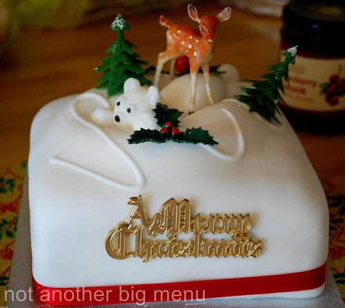Christmas 2010 - Christmas cake