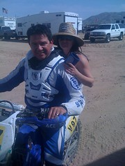 Lenny and Leah Lopez at 29 Palms GP