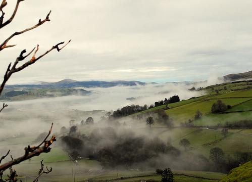 Winter Mists - Lake Bala