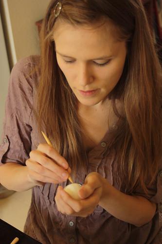 Maria sculpting 2