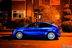 Ford Focus RS Mk 2 At Night Long Exposure Light Painting Last Night Of Silver Wheels (NWVT.co.uk) Tags: light 2 ford night last silver painting photography focus long exposure wheels automotive rs mk at of wheelsford nwvt frsoc