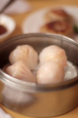 China Pavilion - shrimp dumplings