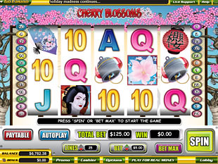 Cherry Blossoms slot game online review