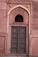 A Doorway In Agra Fort