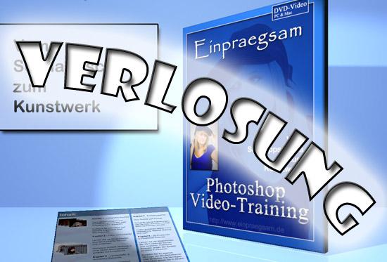 Verlosung Photoshop-Lern-DVD